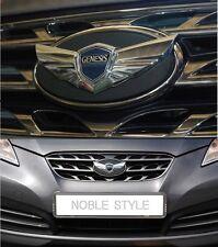(Fit: Hyundai Genesis Coupe 2009-2016) Grille Trunk Genuine Emblem Set 2EA