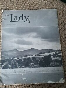 VINTAGE The Lady - magazine weekly publication 22nd November 1956 - 8d