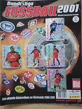 PANINI FUSSBALL BUNDESLIGA 2001 GLITZERSTICKER 10 AUS 94 WÄHLEN - BITTE LESEN!!!