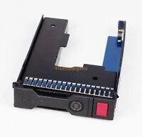 "HP 651314-001 LFF 3.5"" SAS HDD Tray Caddy with 2.5"" Adapter for ProLiant G8 Gen9"