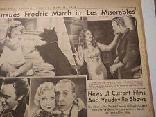Vintage Newspaper Page - Bride of Frankenstein - May 12, 1935 - Photo/Review