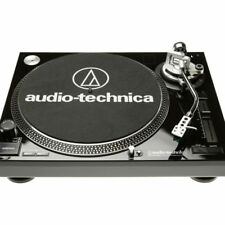 Audio-technica At-lp120usb HC negro giradiscos HiFi DJ