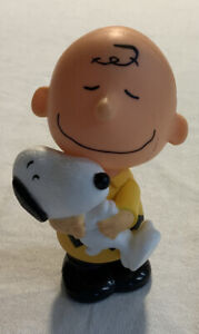 Charlie Brown and Snoopy Bobble 2015 McDonald's Toy