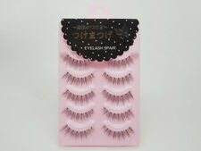 5 Pairs Japanese False Eyelashes Natural Long Thick Black Eye Lashes Makeup Tool