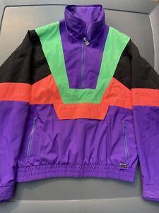Vintage White Stag Ski Wear Mens Winter Jacket style # WPL 874 Size Large