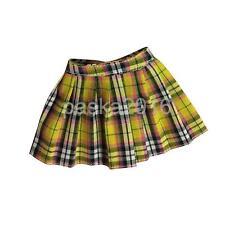 1/6 School Girl Uniform Mini Skirt Outfit for Kumik Phicen Hot Toys Yellow