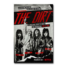 H507 Art The Dirt Motley Crue American Rock Musical 18 24x36 Print Poster