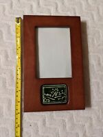 "Rare Woods Picture Frame Burnes Of Boston For 3.5""x 5"" Photo Free Shipping"