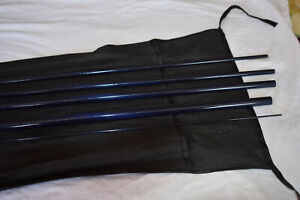 IM6 13ft 9/10wt 5 Sections Spey Fly Rod Blank  (TRANSLUCENT Dark Blue)