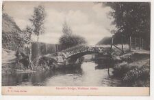 Harold's Bridge Waltham Abbey Essex Postcard, B682