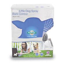 Little Dog Spray Bark Control Collar Stop Barking PetSafe Elite Warranty