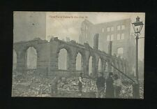 Glos Gloucestershire BRISTOL Dighton St Great Fire disaster 1905 PPC used 1906