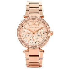 Michael Kors MK-6352  Damen Uhr Original Armbanduhr Rose Gold Analog Edelstahl