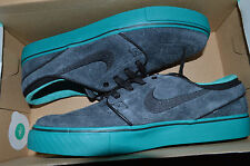 New Mens Nike Zoom Stefan Janoski SB Shoes 333824-053 sz 8 Black Hyper Jade