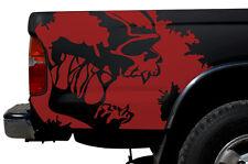 Custom Vinyl Graphics Decal Wrap Kit for 1995-2004 Toyota Tacoma TRD SCREAM Red