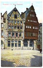 AK, Frankfurt Main, Haus Frauenlob, ca. 1907