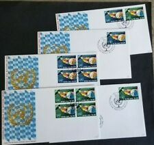United Nations, small lot of FDC's