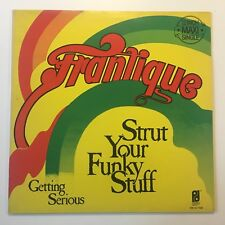 Frantique Strut Your Funky Stuff Vinyl EP 12 Inch Maxi Single PIS 12.7728 MINT