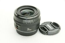 Canon lens EF 28mm 1:2 .8