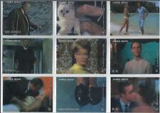 2008 James Bond in Motion COMPLETE 63-TRADING CARD BASE SET Lenticular