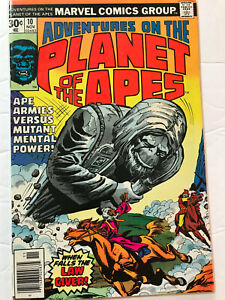 Adventures on Planet of the Apes #10 (Marvel 1976) HIGHER GRADE Bronze beauty!