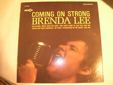 RARE BRENDA LEE LP - COMING ON STRONG - STEREO -  NEAR MINT- ORIGINAL  DECCA