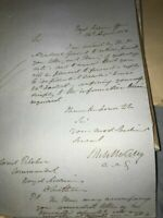 Pre Crimean War Royal Marines Document  R25