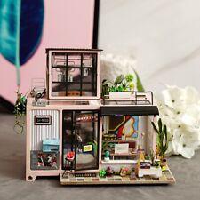 Rolife DIY Miniature Dollhouse Kit - 1:24 Modern Doll House Room Set with Light