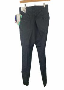 "New Blauer 8810W Pants unhemmed Black Size 8 29"" Waist Womens Uniform pants EMT"