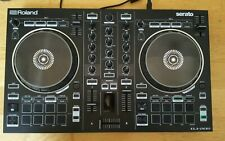 Roland DJ 202 Professional 2 Channel Serato DJ Controller Decks with Sequencer