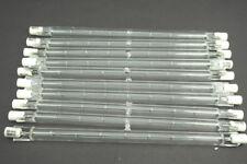 10Pcs 1500 WATT Halogen J-Type 220 - 240V 1000W 254mm Linear T3 R7S Quartz Lamp