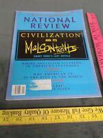 National Review Magazine October 13, 1989 XLI, NO. 19