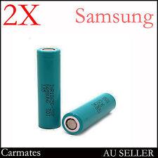2 Samsung High rate Battery 2Ah Li-ion Cell 18650 For Bosch Makita Hitachi 3.7V