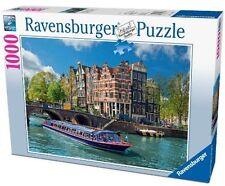 1000 Puzzle Grachtenfahrt In Amsterdam Ravensburger 191383