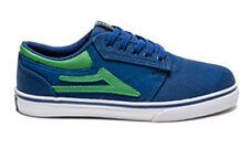 Lakai Griffin Blue Canvas Boy Girl Kid Skateboard skate Trainer sneaker UK13/US1