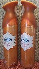 Febreze Air Effects Falling Leaves & Spice Fragrance Mist Air Refresher Lot of 2