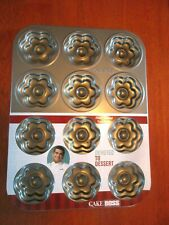 Cake Boss Devoted to dessert Flower Molded Cookie Pan New