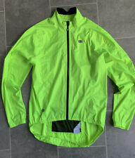SUGOI ZAP JACKET. CYCLING TOP, JERSEY. ULTRA REFLECTIVE. YELLOW. LARGE. NEW.