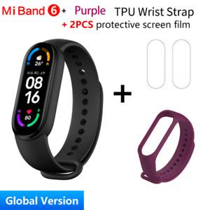 "Global Version Xiaomi Mi Band 6 Smart Bracelet 1.56""AMOLED Screen miBand 6 Heart"
