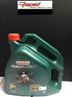 Castrol Magnatec 5W-40 C3 Fully Synthetic Engine Oil 5W40 4 Litres 4L free post