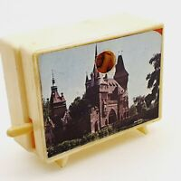 Vintage optical toy small photo viewer w Budapest famous places 1970's Hungary 2