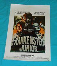 original YOUNG FRANKENSTEIN Belgian movie poster Gene Wilder Peter Boyle