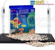 """Under-Gravel Aquarium Filter Lee's Original UGF 20L/29/37 Gallon 30"""" x 12"""" 13229"""