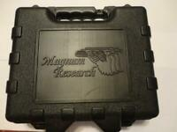 Magnum Research 380ACP Compact Pistol Case (EMPTY) gbox-n0018