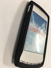 Sony Ericsson Vivaz U5a, U5i Kurara Silicone Case Cover in Black SSSEVIVAZ-A