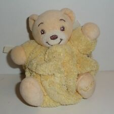 Doudou Ours Kaloo - Collection Plume - Jaune