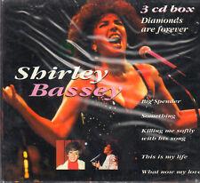 "SHIRLEY BASSEY "" DIAMONDS ARE FOREVER "" 3 CD BOX SIGILLATO HR 883252"