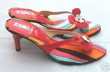 Flower Power CHAUSSURES FEMME talons hauts 7cm escarpins chaussures 38