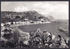 MESSINA CAPO D'ORLANDO 01 LIDO SAN GREGORIO Cartolina FOTOGRAFICA viagg. 1963