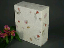 Biodegradable Eco-Friendly Adult Funeral Cremation Urn w. Floral Finish
